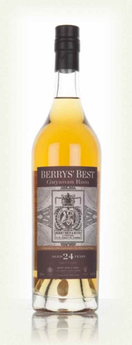 Berry's Best Gyuanan Rum 24 years 46°