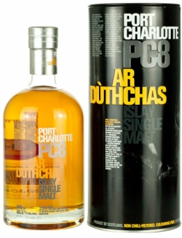 Bruichladdich Port Charlotte PC8  60.5° - 70cl