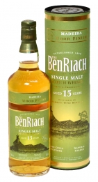 Benriach 15 years Madeira Wood Finish 46°