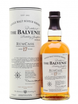 Balvenie single malt 17 years Rum Cask