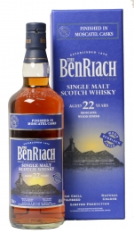 BenRiach moscatel 22 years old single malt