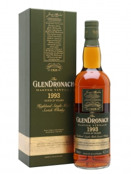 Glendronach 1993 Master Vintage  25 years 48.2° - 70cl